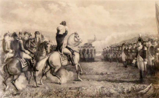 Washington Taking Command of the Army at Cambridge