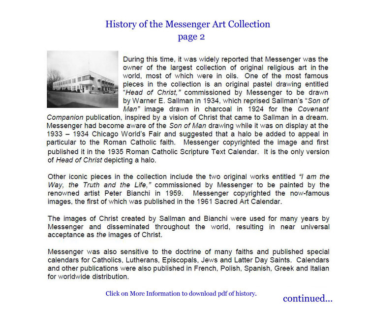 History of the Collection