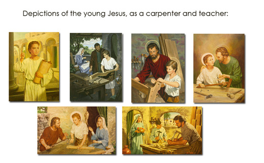depictions of young Jesus