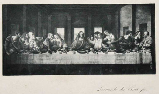 The Last Supper - Leonardo da Vinci (Italian, 1452 - 1519)