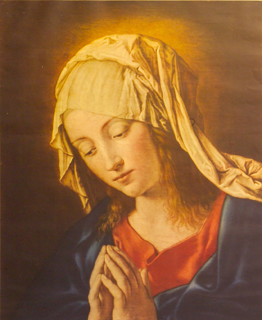 The Madonna at Prayer - Print by Sassoferrato