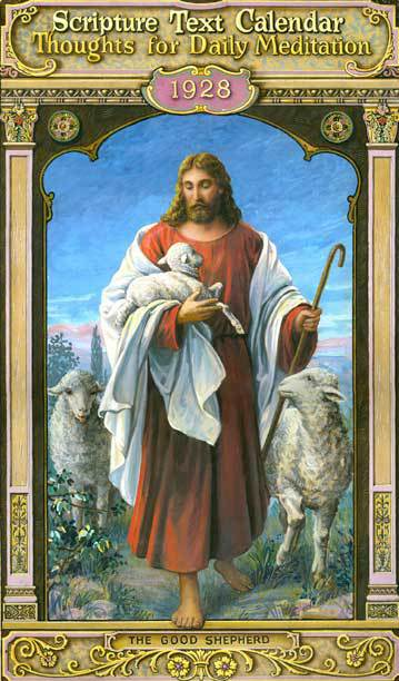 Sacred heart Calendar - The Good Shepherd