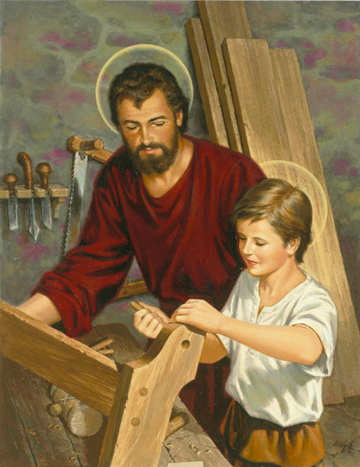 Jesus the Young Carpenter by Marvin Nye