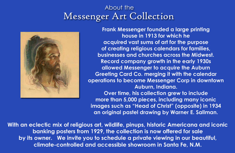 Frank Messenger and his collection