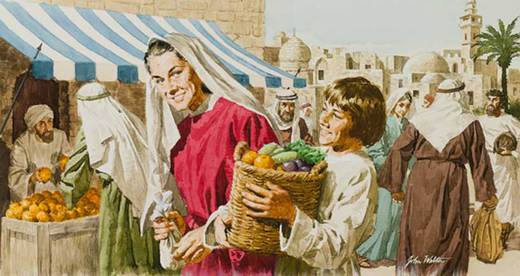 Jesus in the Marketplace - John Walters