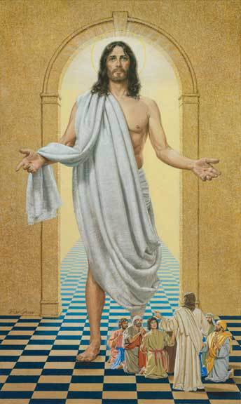 The Risen Christ - Bill Gregg