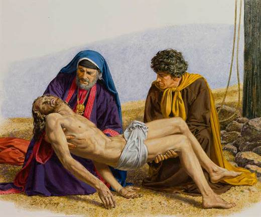 Burial of Jesus - Bil Gregg