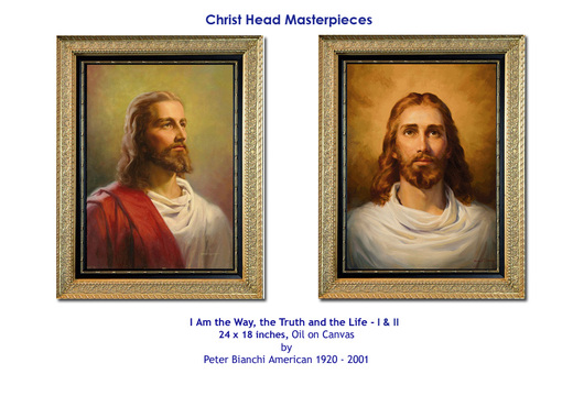 Christ Heads by Peter V. Bianchi