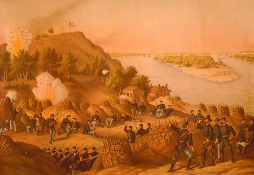 Seige at Vicksburg