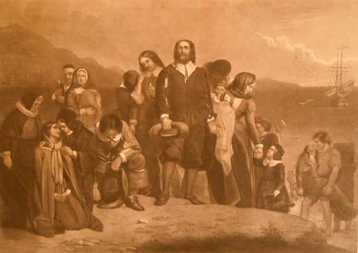 The Landing of the Pilgrims