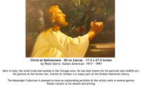 Christ at Gethsemane by Peter Darro - for sale