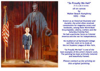 So Proudly We Hail by Walter Beach Humphrey - for sale
