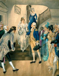 Washington's Wedding Day by H. A. Ogden