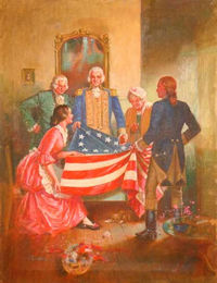 The First Flag by R.G. Jones