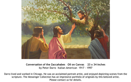 Conversation of the Zaccahabes by Peter Darro - for sale