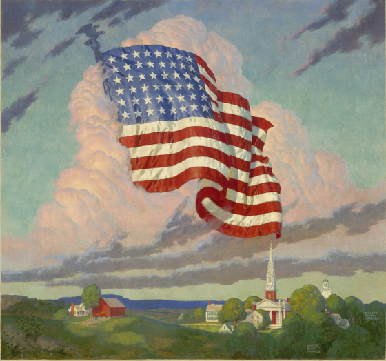 Land of the Free by Walter Beach Humphrey