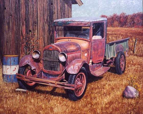 Ford by John Bognar - Fine Art Print Available