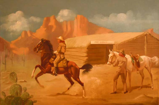 Pony Express by Peter Darro